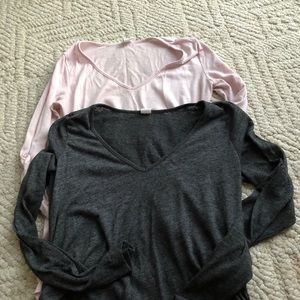 Long sleeve maternity tops